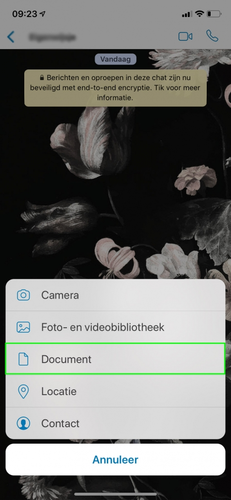 WhatsApp tips en trucs. documenten doe je zo